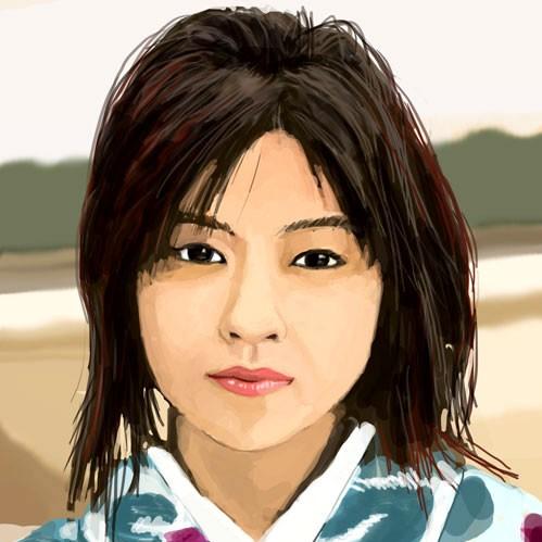 Portrait femme Japonaise