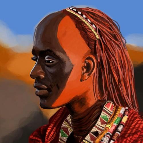 Guerrier Maasai