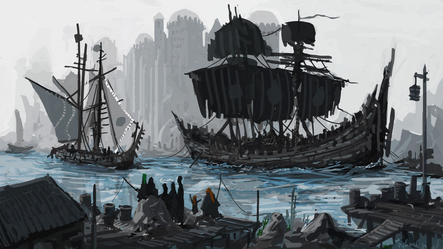 Black Ships Paint from Pymous