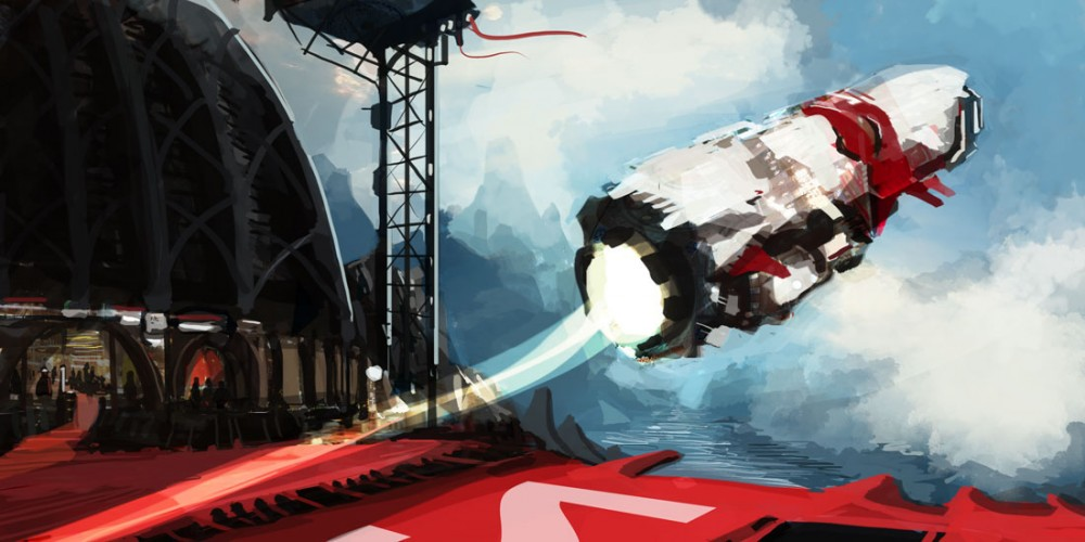 speed painting decolageSF