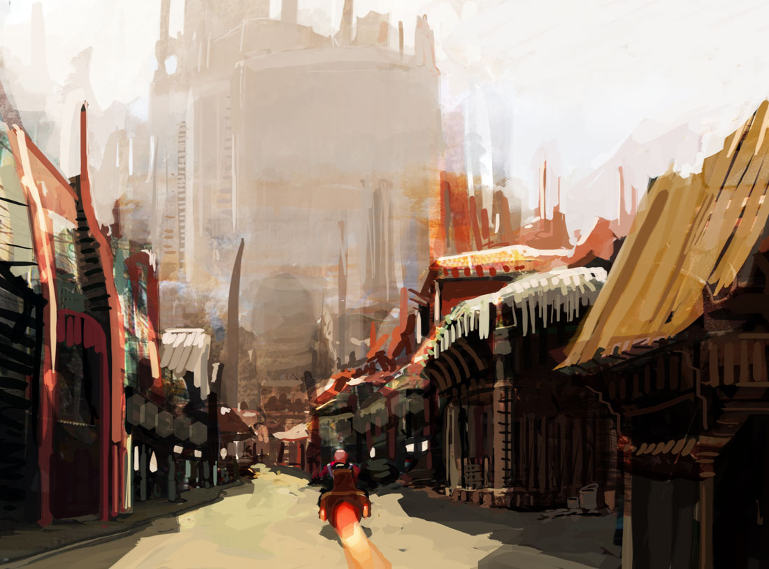 Speed painting megastructure