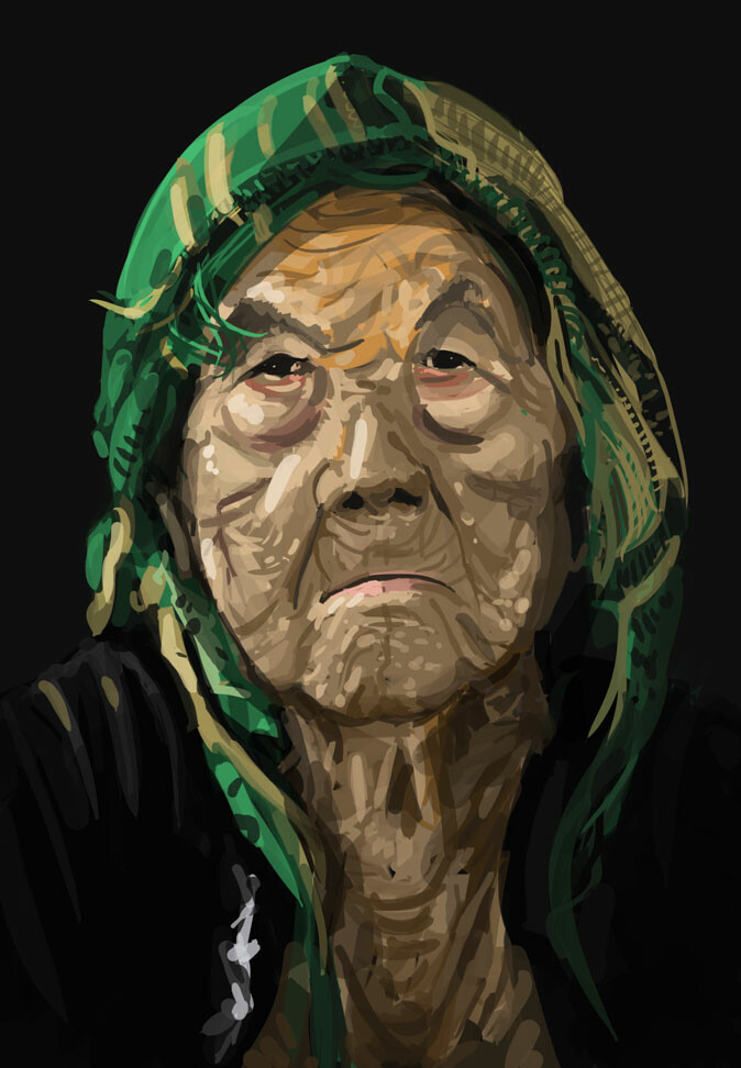 Old Woman Study